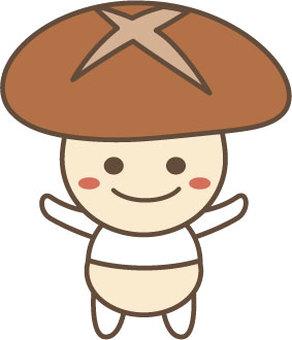 Shiitake character