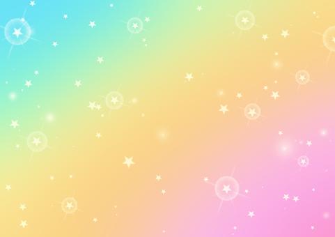 閃閃發光的明星