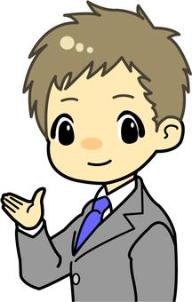 Business men (suit) 1