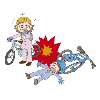 Bicycle accident 2