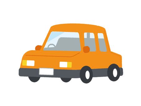 Car Vehicle Vehicle Passenger Car Orange