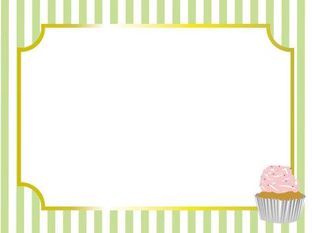 Cupcake _ Deco _ Food Frame 17