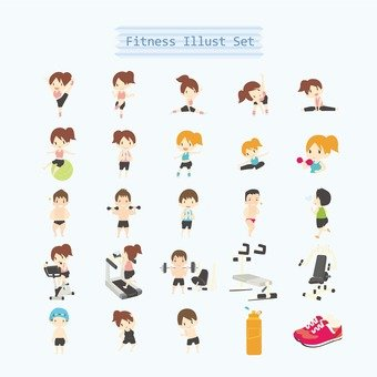 Fitness illustration
