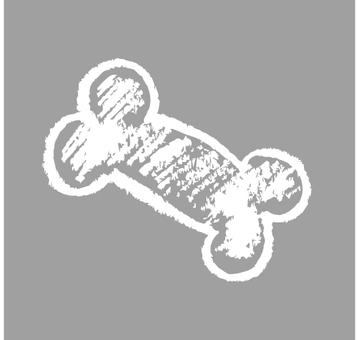 Hand-drawn wind bone