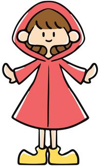 Girls wearing red kappa