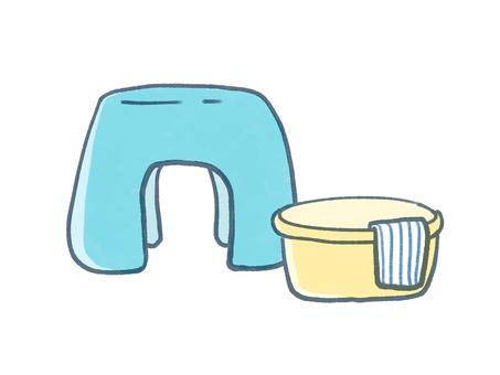 Bathroom and wash basin