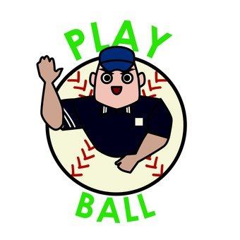 Playball! It is!