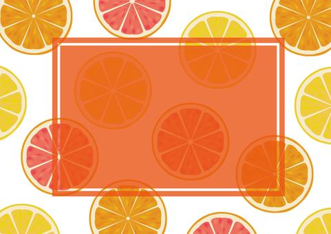 Cut fruit background 04