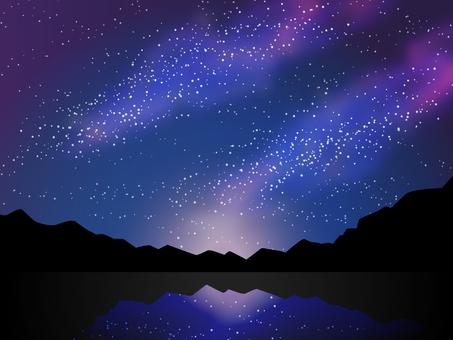 밤하늘의 별빛 은하수 칠석 천체 관측