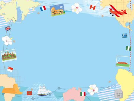 World Travel Frame