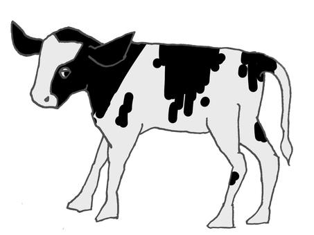 Left-facing calf