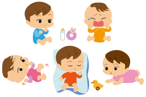 Baby 5 poses