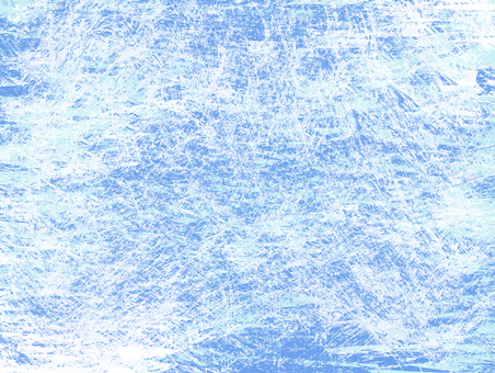Painting of blue and light blue paint