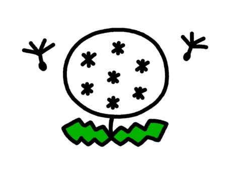 민들레 솜털 2