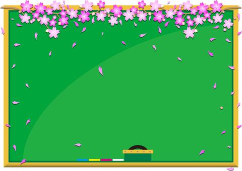 Blackboard cherry tree 02