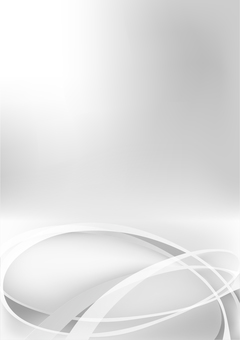 White streamline abstract background material
