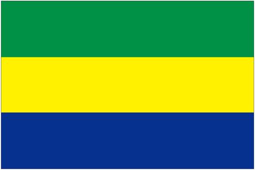ガボン 国旗