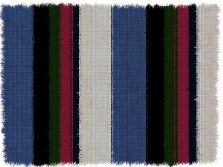 Hand painted background material (striped pattern 2)