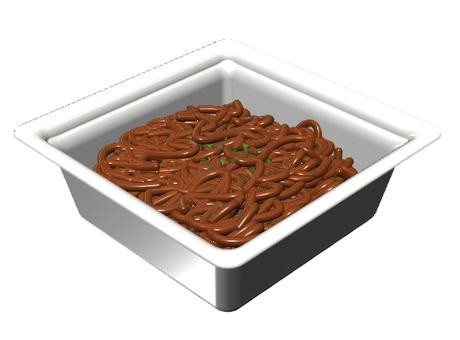 Cup fried noodles