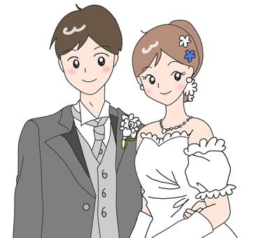 신부와 신랑 (양장)