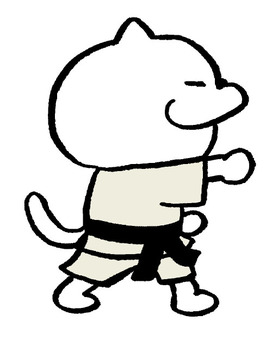 Cat karate