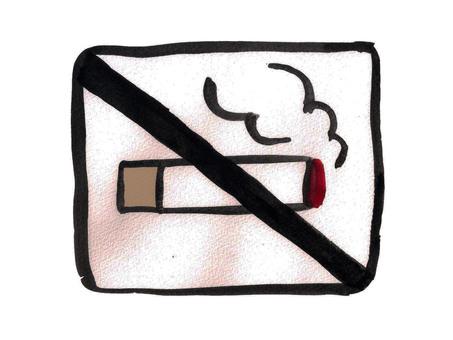 Mark: Non smoking