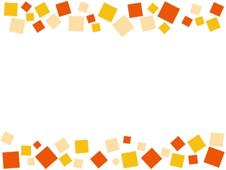 Frame orange