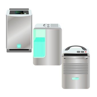 Household appliances that change air