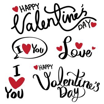 Handwritten Valentine's letter