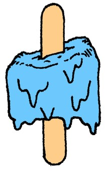 Melted ice cream