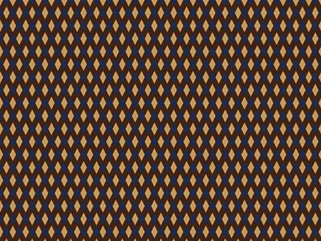 Argyle check brown blue
