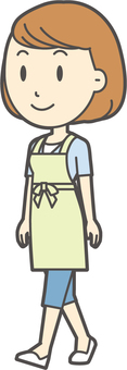 Apron youth Bob-348-whole body