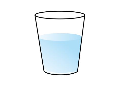 Cup water