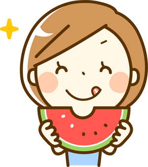 Instructor to eat watermelon