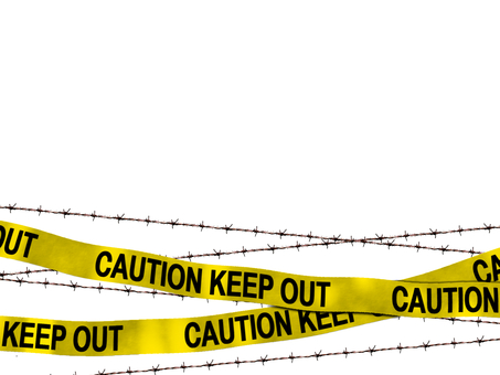 Free background material danger no entry