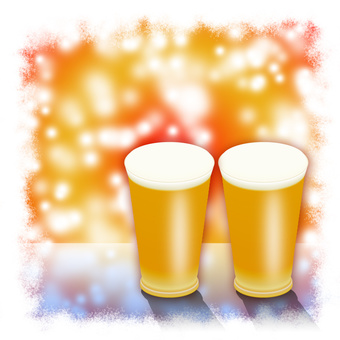 Bonenkai / New Year party image beer