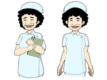 護士的阿姨1(淺藍色)
