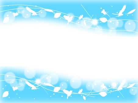 Blue sky frame 1