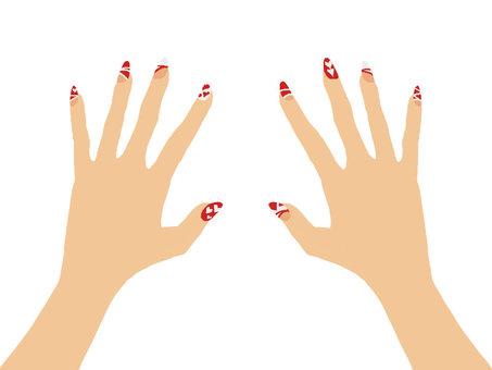 Hand nail 8