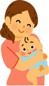媽媽和寶貝