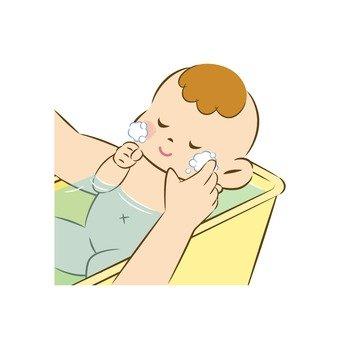 Baby's bathing 3