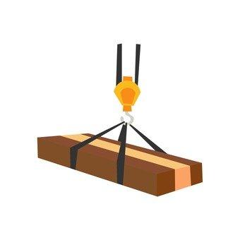 Lifts lumber