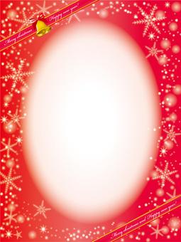 Christmas frame material