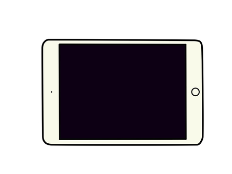 Tablet PC (white)