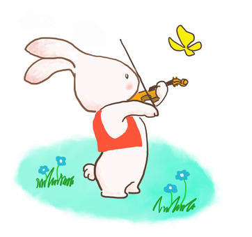Violin rabbit 21