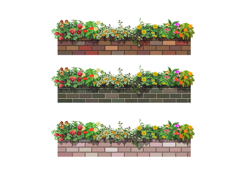 Flower bed 008