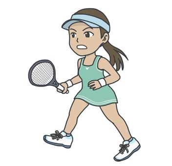 Tennis player (woman)