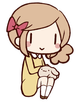 Usagi and girls