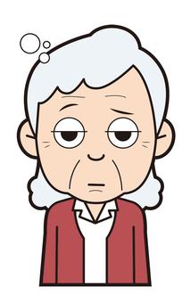 Grandmother (sleepy)