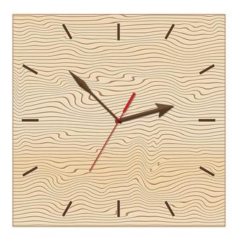 Watch (horn) wood grain